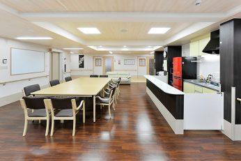 2階食堂・談話室